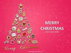 Free Christmas Ppt Templates Free Christmas Tree Powerpoint Template