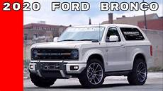 2020 ford bronco 2020 ford bronco announcement at detroit auto show naias