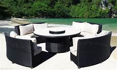 Circular Patio Sofa 3d Image by Outdoor Wicker Sectional Sofa Patio Furniture Khk Ebay