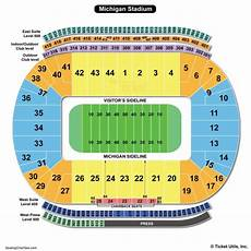 Arbor Stadium Seating Chart Michigan Stadium Seating Chart Seating Charts Amp Tickets