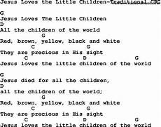 The Light Of Christ Chords Christian Chlidrens Song Jesus Loves The Little Children