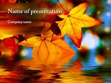 Autumn Powerpoint Background Download Free Autumn Leaves Powerpoint Template For