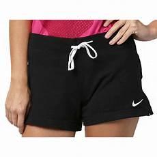 shorts feminino nike jersey feminino 615055 010 preto branco