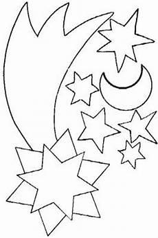 Window Color Malvorlagen Sonne Mond Und Sterne Sonne Mond Sterne