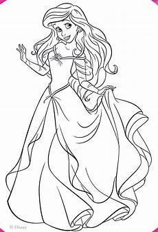 Malvorlagen Prinzessin Disney Walt Disney Coloring Pages Princess Ariel Walt Disney