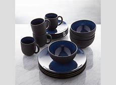 Jars Tourron Blue 16 Piece Dinnerware Set   Reviews
