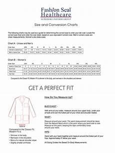 Cintas Lab Coat Size Chart Fashion Seal Healthcare Labcoat Size Chart