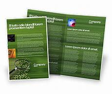 Information Pamphlet Template Retrieval Information Brochure Template Design And Layout
