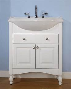 34 inch single sink narrow depth furniture bathroom vanity