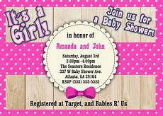 Poka Dot Invitations Polka Dot Baby Shower Invitations Kustom Kreations