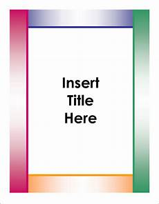 Cover Title Png Cover Page Transparent Cover Page Png Images Pluspng