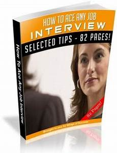 Any Job How To Ace Any Job Interview Free Plr Ebook Download