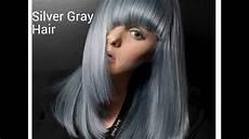 hair silver slate gray make
