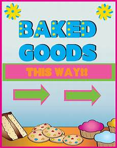Bake Sale Template Word Free Printable Bake Sale Flyers Cliparts Co
