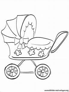 malvorlagen kinderwagen kostenlos
