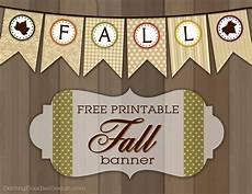 Fall Letters Template Printable Fall And Leaf Banner Darling Doodles