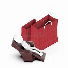 Sofa Sack 3d Image by 3d White Sitting On A Sofa Chair Shopping Bag Two