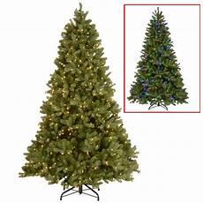7 5 Foot Dual Light Christmas Tree National Tree Company 10 Ft Downswept Douglas Fir