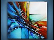 Acrylic Abstract Painting Abstract Painting Demo 10 Acrylic Painting Speed