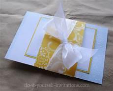do it yourself wedding invitations printing onto diy kits