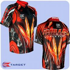 Red S Custom Design Target Authentic Stephen Bunting Cool Play Dart Shirt