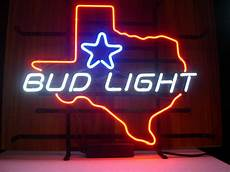 Bud Light Texas Neon Sign 2020 New Bud Light Texas Lager Real Glass Neon Light