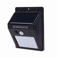 Open Trails Motion Activated Solar Led Light 20leds Waterproof Solar Light Pir Motion Sensor Solar Wall