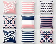 pink navy pillow pillow covers cushion covers throw