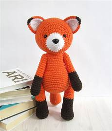 pattern fox amigurumi fox pattern crochet by kristitullus