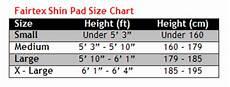 Muay Thai Shin Guards Size Chart Fairtex Mma Shin Pads