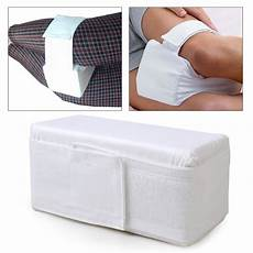 new leg rest elevating pillow cushion knee back bed