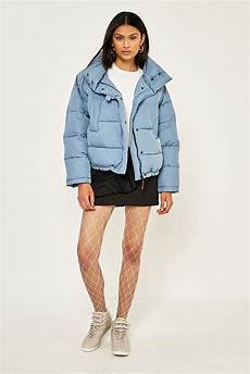 Light Blue Puffer Jacket Urban Outfitters Light Before Dark Blue Pillow Puffer Jacket Urban