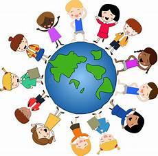 children around the world stock illustration illustration