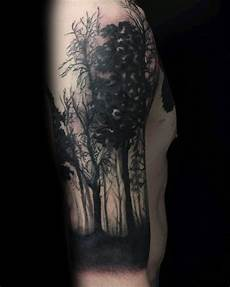 Forest Arm Design 100 Forest Designs For Men Masculine Tree Ink Ideas