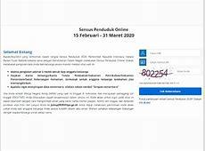 Tata Cara Mengisi Sensus Penduduk Online 2020   Tagar