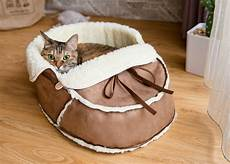 unique moccasin pet bed for cats dogs and pets modern cat