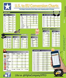 Uk And Us Size Conversion Chart Conversion Charts Us To European Measurements And Sizes