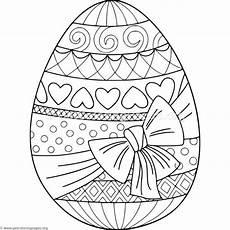 Malvorlagen Ostereier Ideen Gift Wrapped Easter Egg Coloring Pages Malvorlagen