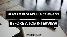 Company Research How To Research A Company For A Job Interview 7 Steps