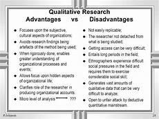 Advantages Of Quantitative Research Design 3 3 Advantages X Disadvantages Of Qualitative Research