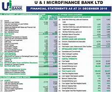 Finacial Report Financial Reports U Amp I Microfinance