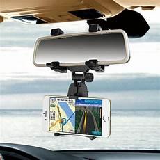 porta navigatore auto supporto porta cellulare per specchietto retrovisore auto