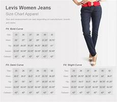 Levis Size Chart The Jean Size Chart Need To Know Fashion Feel Info