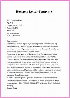 professional business letter format 11 free formal business letter format template