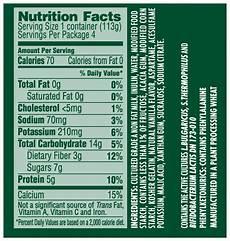 Activia Light Yogurt Nutrition Label Fake Health Food Food Lies