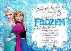 Frozen Birthday Invitations Printable Disney S Frozen Winter Birthday Invitation Printable