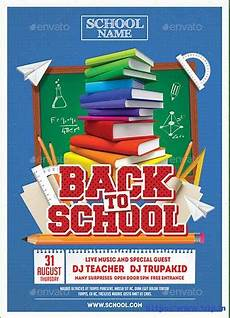 Back To School Flyer Templates 60 Best Back To School Flyer Print Template 2018 Frip In