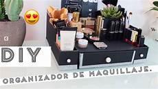 diy organizador como hacer tu organizador de maquillaje f 225 cil economico