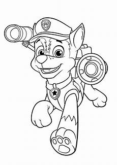 paw patrol coloring pages to and print for free