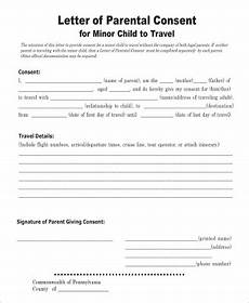 Child Travel Consent Form Samples Free 5 Sample Child Travel Consent Forms In Pdf